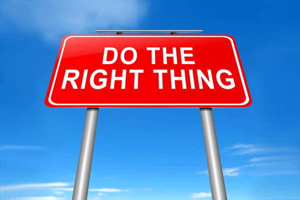 I Follow Three Rules Do The Right Thing Do The Best You: How To Avoid Reputational Damage